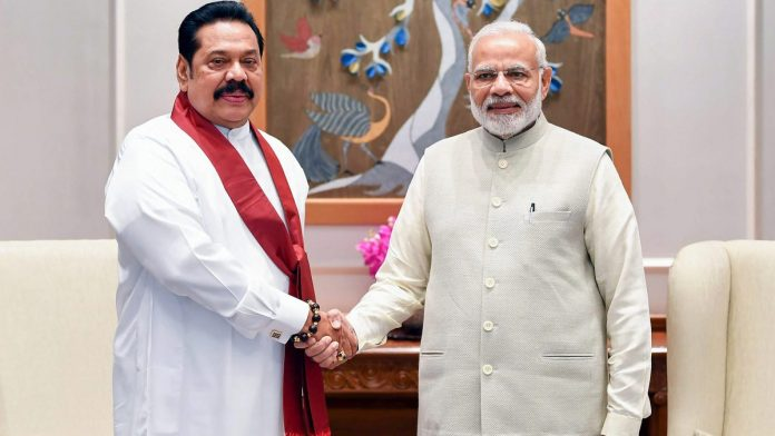 Virtual Bilateral Summit between  PM Modi and his Sri Lankan counterpart Mahinda Rajapaksa to be held on Sept 26