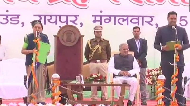 Chhattisgarh CM inducts 9 ministers