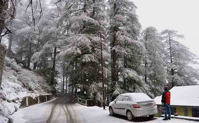 Lahaul-Spiti and other parts of Himachal Pradesh experience light snowfall