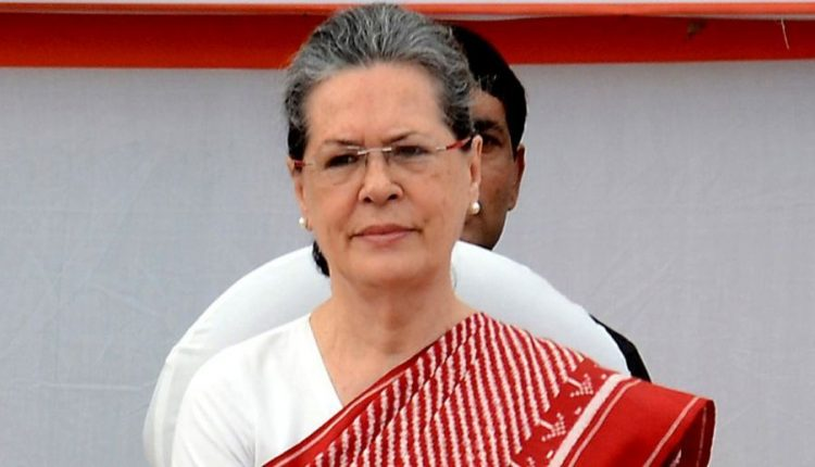 Sonia Gandhi elected as leader of Congress Parliamentary Party