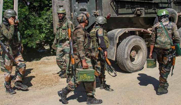Militant killed in encounter with security forces in Shopian, J&K