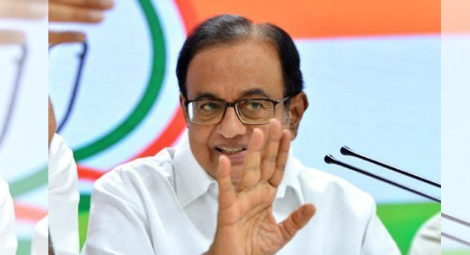Chidambaram slams BJP for justifying Central Vista project