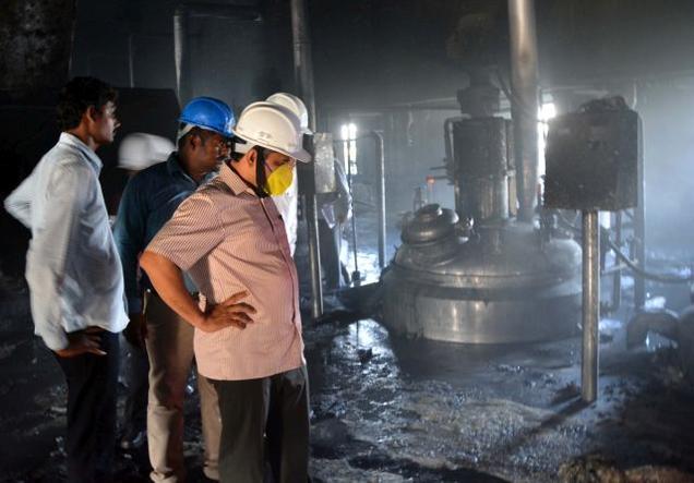 Andhra: Reactor blast in Jawaharlal Nehru Pharma city, 2 killed and 8 injured