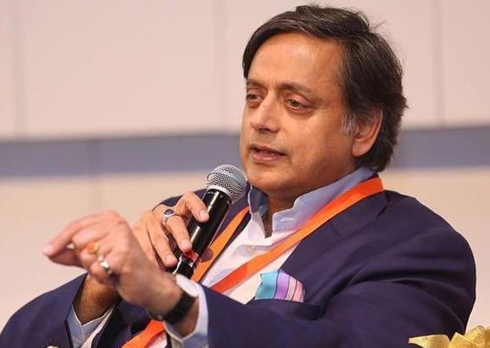 Congress leader Shashi Tharoor slammed BJP for attack on his office