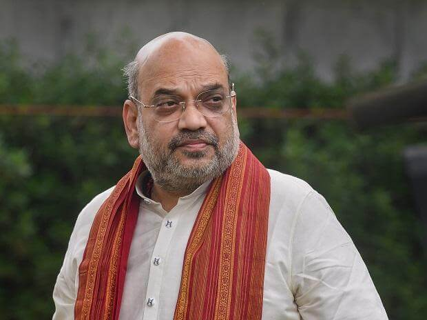 Home Minister Amit Shah receives first jab of Covid-19 vaccine