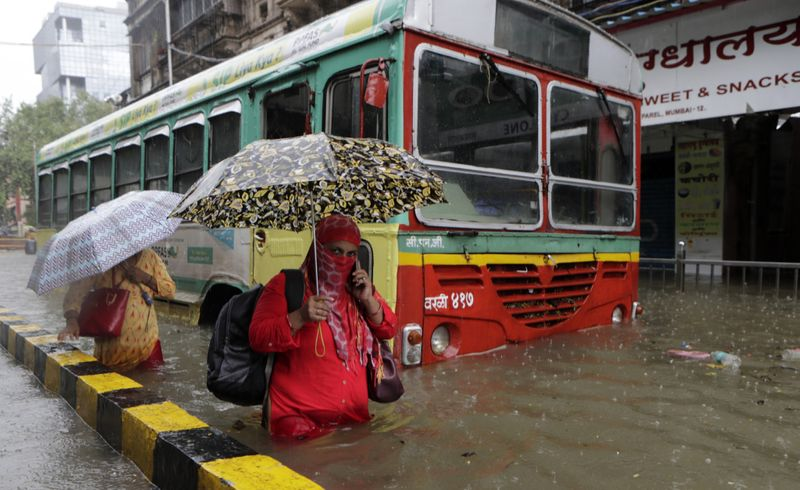 Normal life disrupted in Mumbai due to heavy rainfall