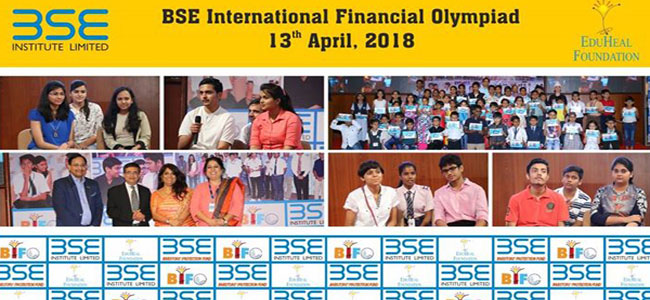 Over 17,000 students from India took part in the sixth BSE International Finance Olympiad.