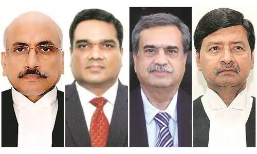 Four SC judges take oath of office