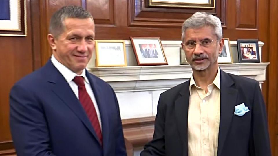 EAM S Jaishankar meets Russian Deputy PM Yury Trutnev