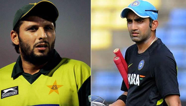 Don't worry, will sort it out son': Gautam Gambhir reminds Afridi about PoK