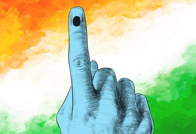 Around 70 per cent polling recorded in 17th LS polls