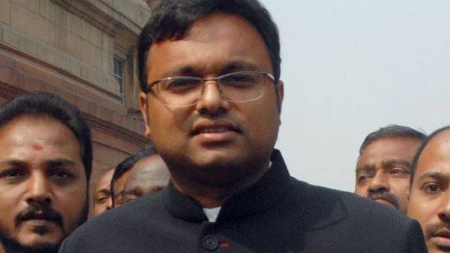 ED searches Karti Chidambaram