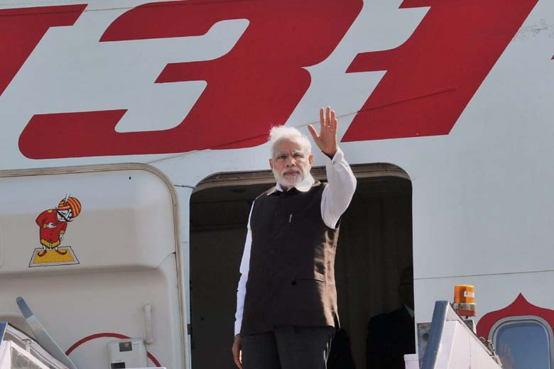 PM Modi returned to New Delhi early this morning