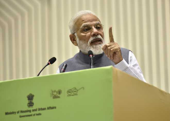 Modi challenges Opposition to prove if he has amassed assets
