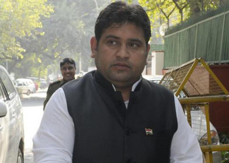 AAP suspends former minister Sandeep Kumar