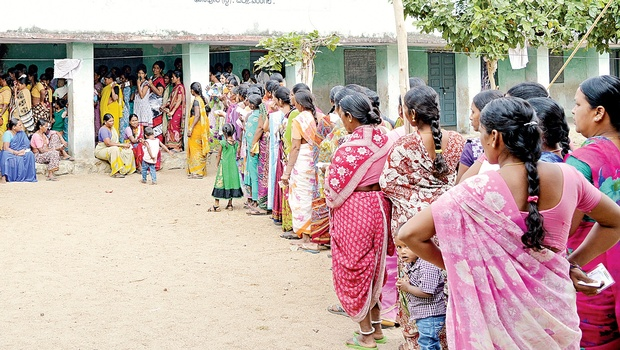 60 pc polling recorded in civic polls in Warangal