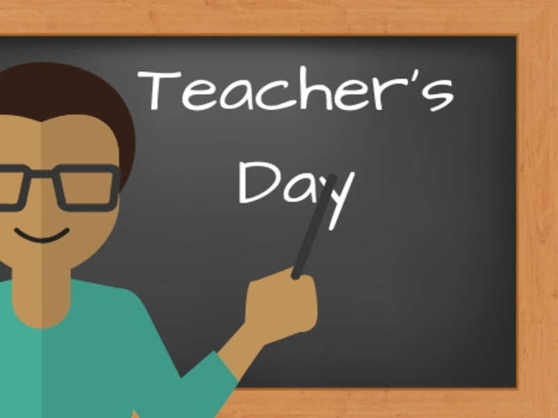 Teachers Day being celebrated today