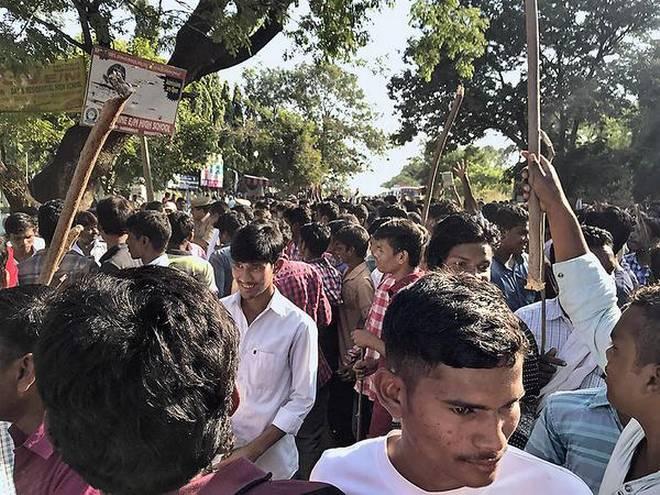 Clashes between Adivasi-Lambad in Adilabad