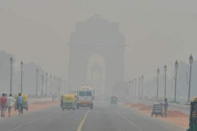 Air quality in Delhi borders