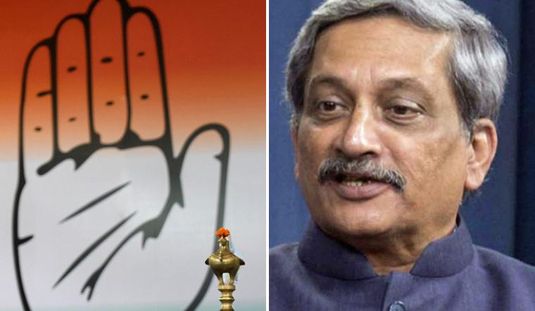Goa Congress stakes claim to govt amid CM Manohar Parrikar
