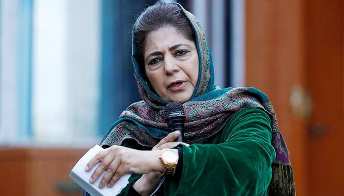 BJP demands Mehbooba Mufti