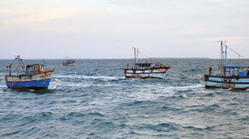 Five TN fishermen arrested by Sri Lankan Navy