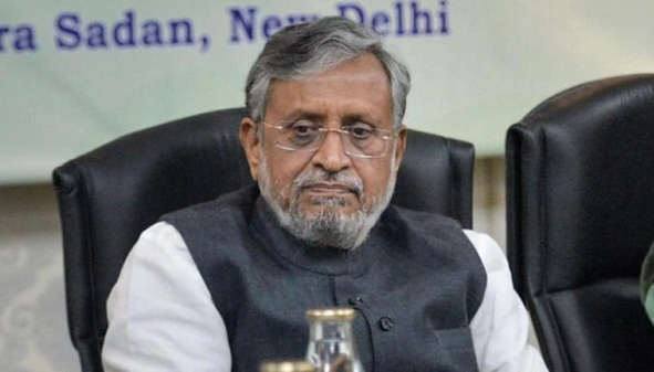 Bihar Deputy CM Sushil Kumar Modi tests positive for Covid, admitted at AIIMS Patna