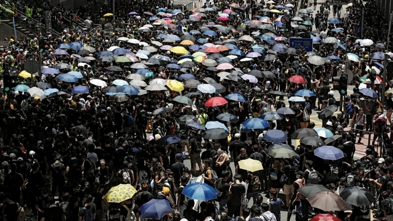 Thousands of protesters demand full withdrawal of Hong Kong extradition bill