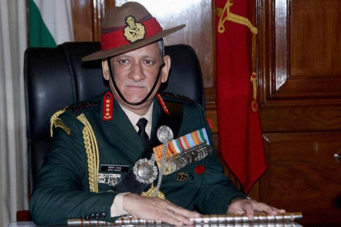 Beheading of soldiers: Army will hit back, says chief Bipin Rawat
