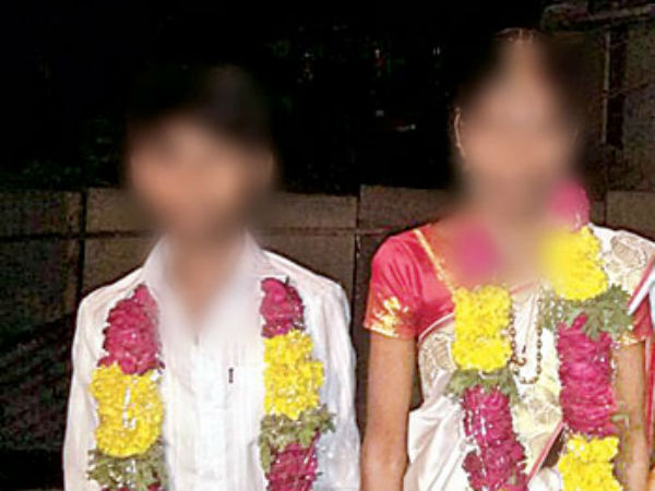 A 13-year-old boy was married off to a 23-year-old woman in Kurnool district to fullfill mom