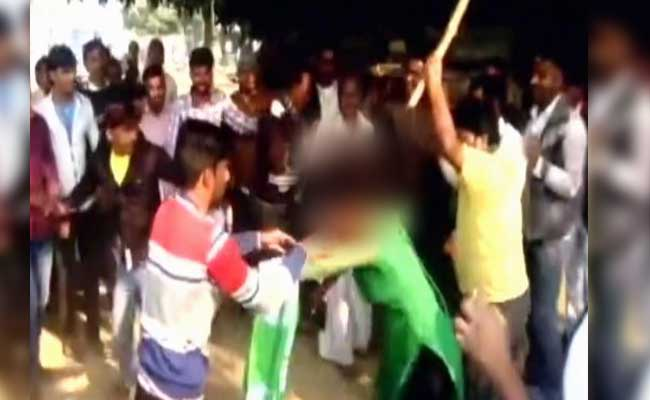 Woman Who Protested Groping Beaten Mercilessly In Crowded Market In UP