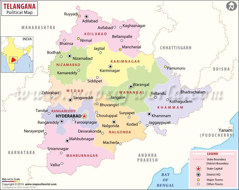Telangana state to have 24 or 25 districts telangana state to have 24 or 25 districts gumiabroncs Choice Image