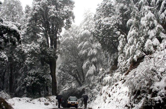 Himachal Pradesh continue to experience heavy snowfall