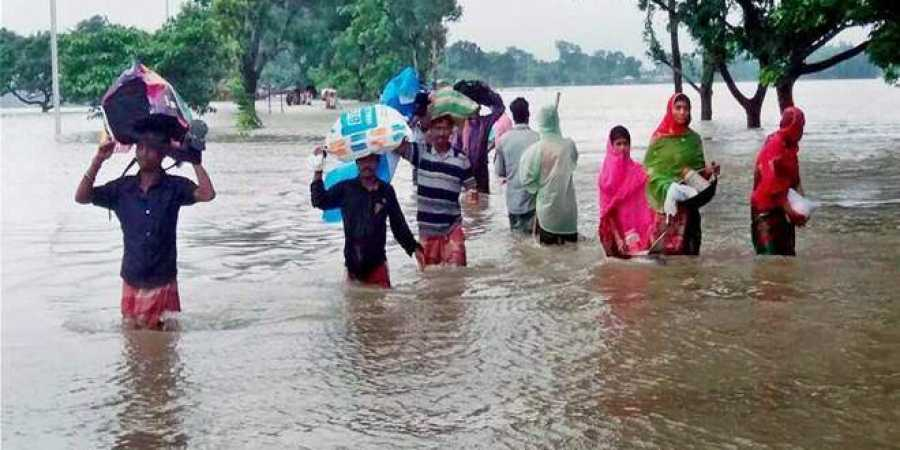 Bihar CM Nitish Kumar instructed officials to provide relief material to flood-affected people