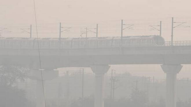 Delhi air quality in