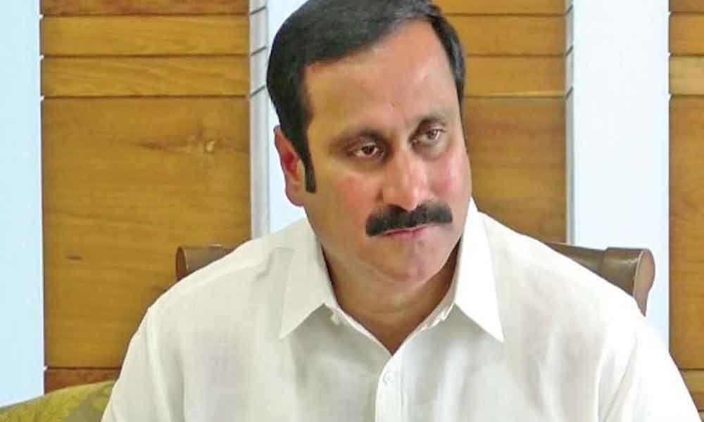 Ambumani Ramadoss takes oath as Rajya Sabha member