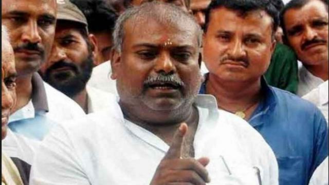 RJD MLA Raj Ballabh suspends for alleged rape case