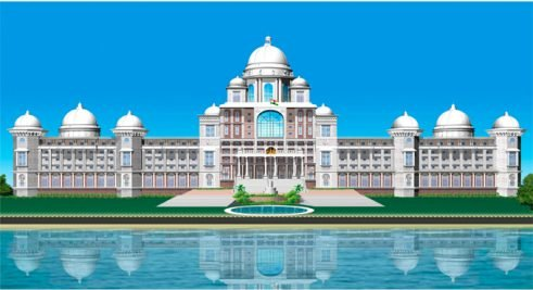 Telangana Secretariat complex to get ready in a year