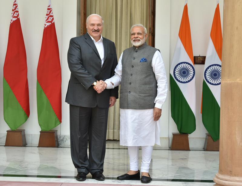 PM holds talks with Belarus Prez Lukashenko