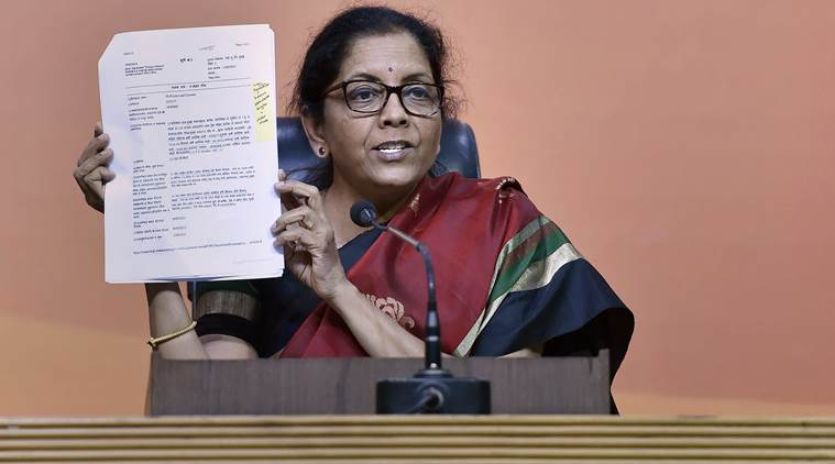 Defence Minister Nirmala Sitharaman target Ruling Government for PNB fraud case.