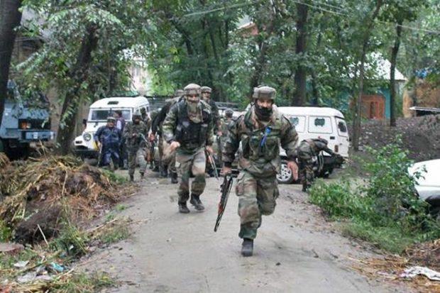 One Hizbul terrorist killed in encounter in Anantnag district,J&K