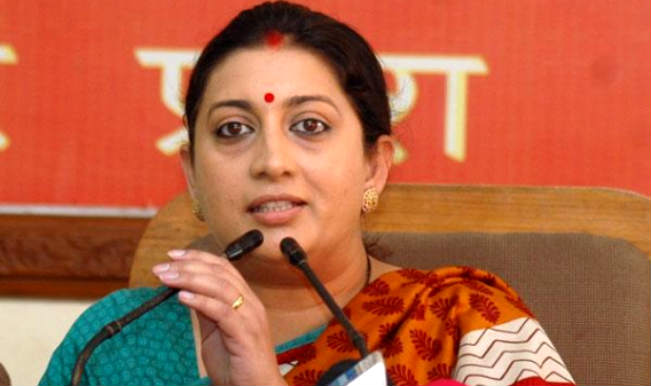 Centre to come out with new education policy to promote quality education: Smriti Irani
