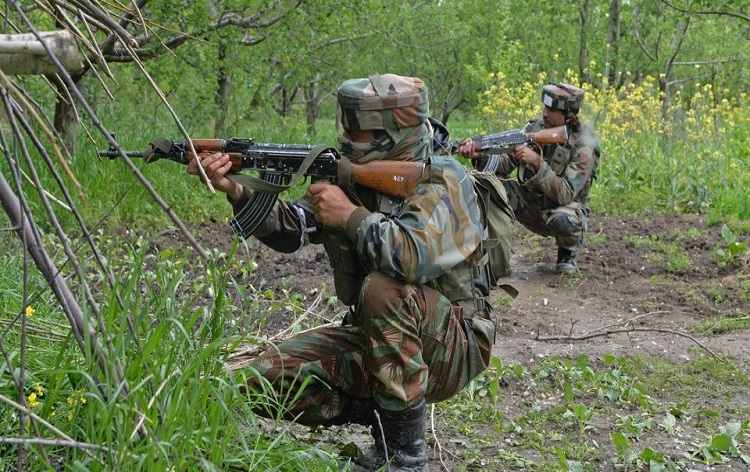 Gunfight raged between terrorists and security forces in Baramulla dist, J&K