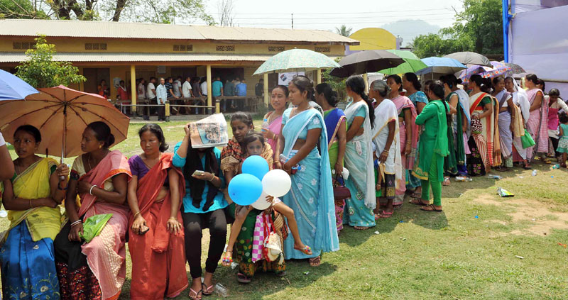 82% polling recorded in Assam final phase