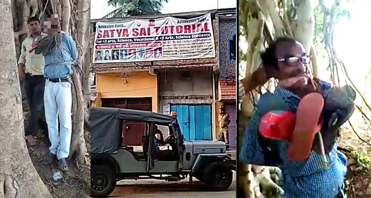 Odisha teacher was allegedly tied to a tree and beaten up for demanding salary