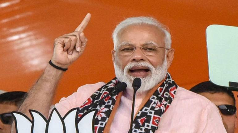 How can national security not be an issue? asks PM Modi