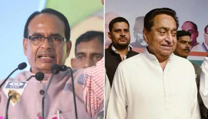 Congress leads in close fight with BJP in Madhya Pradesh