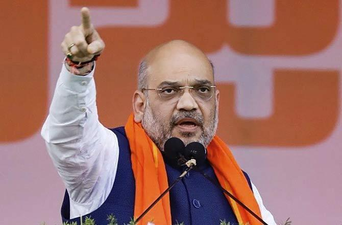 BJP president Amit Shah challenges Congress to open debate on development
