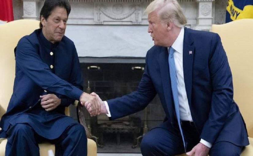Trump asks Imran to resolve tensions with India bilaterally