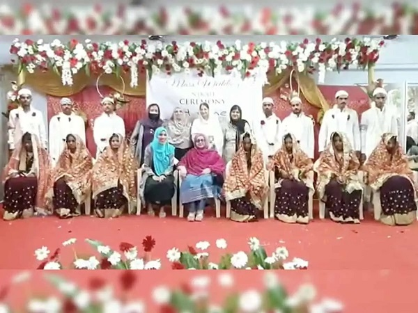 1800 mass weddings of orphans conducted by NGO Humane Touch Trust
